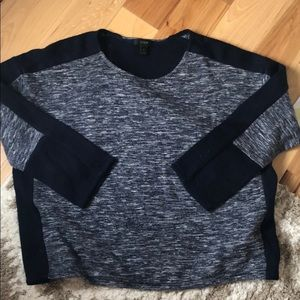 Jcrew sweater with color blocking